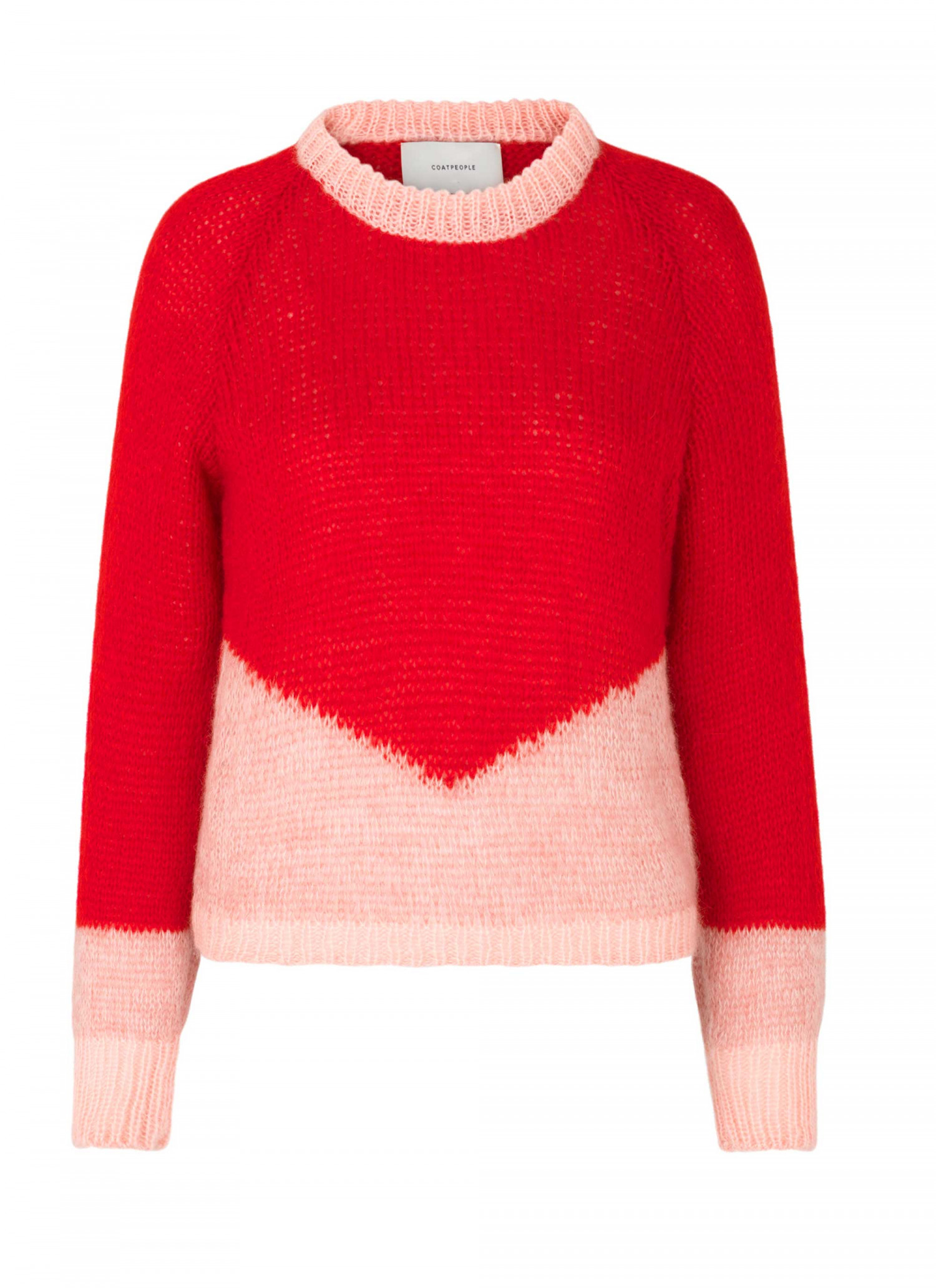 Zooey Knit Red