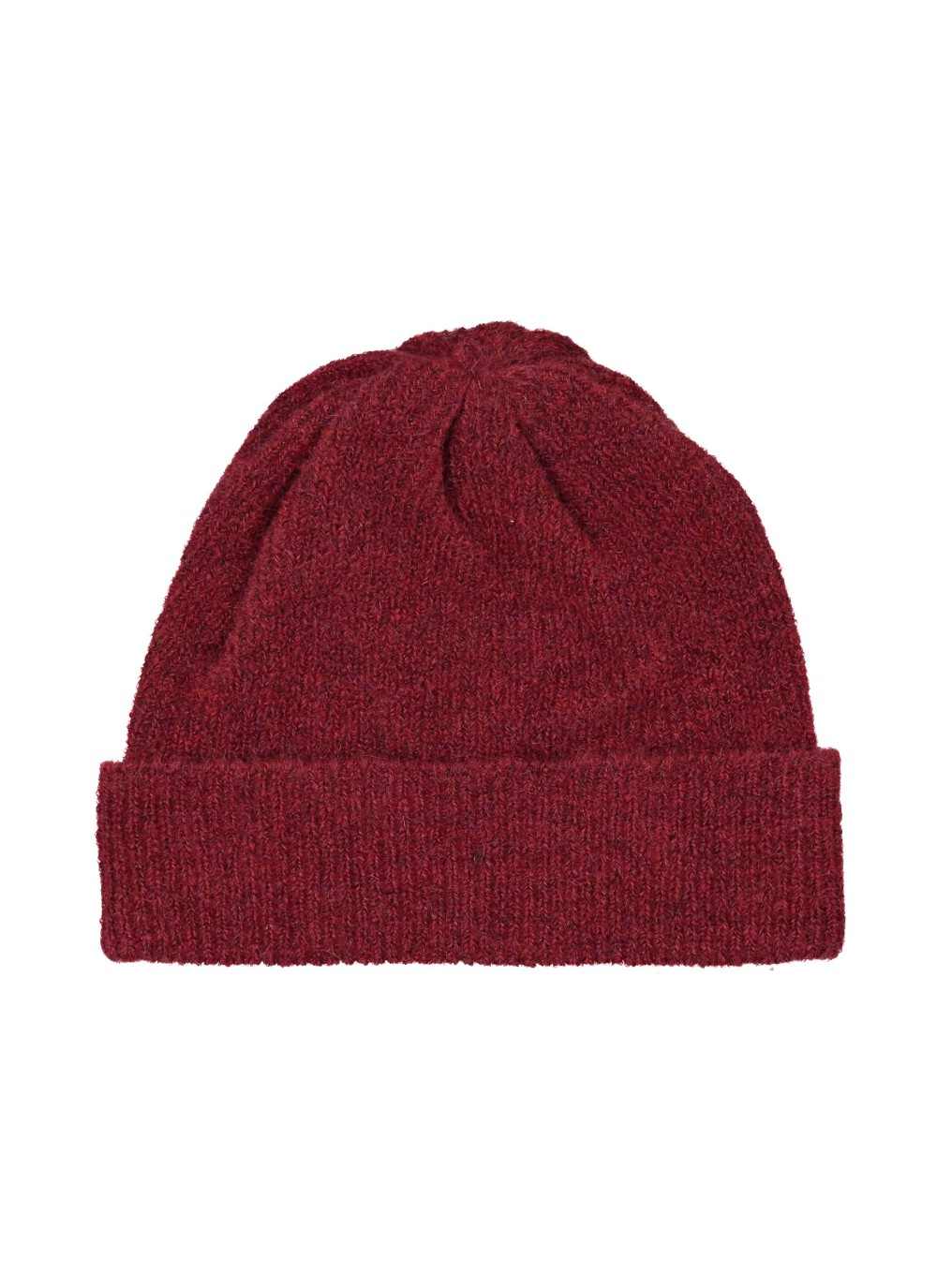 6ea30ab0545 A classic knitted beanie in a soft mohair wool mix